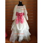 Robe De C�r�monie Bapt�me Mariage F�te Communion Cort�ge Princesse Fille Enfant 4 � 14 Ans