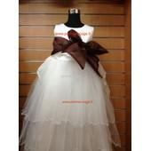 Robe De C�r�monie Bapt�me Mariage F�te Communion Cort�ge Princesse Fille Enfant 2 � 12 Ans