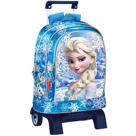 Frozen - Grand Cartable Trolley 43 Cm Deluxe Frozen Disney La Reine Des Neiges