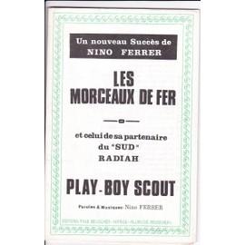 ORCHESTRATION NINO FERRER/LES MORCEAUX DE FER