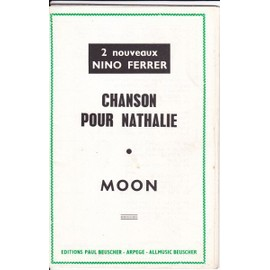ORCHESTRATION NINO FERRER/CHANSON POUR NATHALIE/MOON