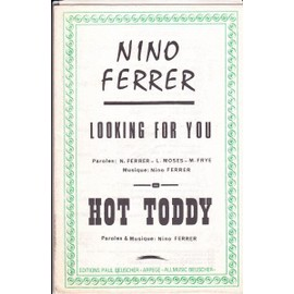 orchestration HOT TODDY:looking for you : NINO FERRER