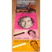 Lot De 3 Disques 45t Sp Luis Mariano Gloria Lasso