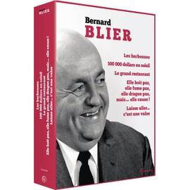 Bernard Blier: Les barbouzes + 100 000 dollars au soleil + Le grand restaurant + Elle boit pas, elle fume pas, elle drague pas, mais... elle cause + Laisse aller... c'est une valse