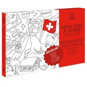 Poster � Colorier Suisse - Omy Design & Play