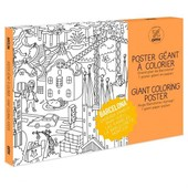 Poster � Colorier Barcelona - Omy Design & Play