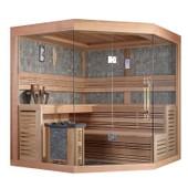 Sauna Traditionnel Lumios - 220 X 200 X 210 - C�dre Rouge