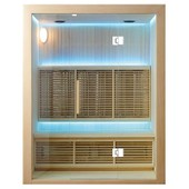Sauna Infrarouge Largo - 150 X 105 X 190 - Pin Blanc