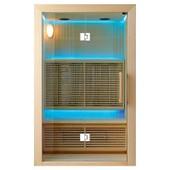 Sauna Infrarouge Hydro - 150 X 105 X 190 - Pin Blanc