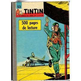 Tintin. Le Journal Des Jeunes De 7 � 77 Ans N�53