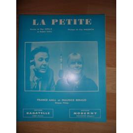 "Partiton ""La Petite"" (France Gall & Maurice Biraud)"