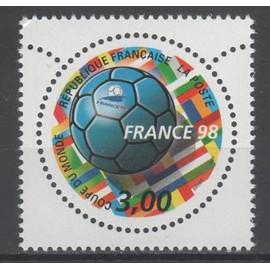 """France 98"" Coupe du monde de Football (V) . Année 1998 n° 3139 Y&Tellier"