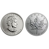 1 Oz Silver Maple Leaf 2013