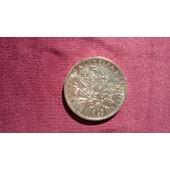 Magnifique Pi�ce De 5 Francs Argent - Ann�e 1963-