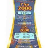 Ticket L'an 2000 Fran�aise Des Jeux