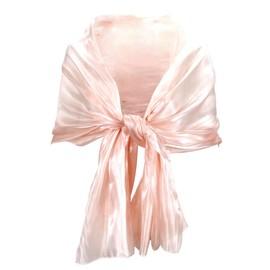 Echarpe Foulard Soie Femme Ch�che Ch�le Silk 190cm Rose Noir Gris Soiree Mariage