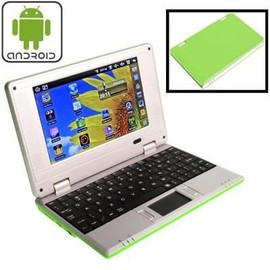 Netbook vert Android WiFi/USB/SD 7