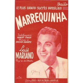 partition LUIS MARIANO marrequinha