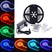 XCSOURCE� 5M 5050 IP20 RGB 300 LED Bande Ruban + �cran Tactile RF T�l�commande