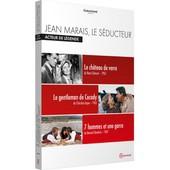 Jean Marais, Le S�ducteur - Acteur De L�gende : Le Ch�teau De Verre + Le Gentleman De Cocody + 7 Hommes Et Une Garce de Ren� Cl�ment