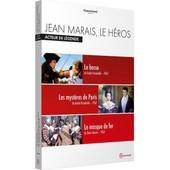 Jean Marais, Le H�ros - Acteur De L�gende : Le Bossu + Les Myst�res De Paris + Le Masque De Fer de Andr� Hunebelle