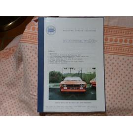 Registro Lancia Classiche Il giornale n°2 Hiver 1991-92 Lancia Rally 037 de Jean Bussignac - Flavia - Hyena Delta Integrale HF Coupé Zagato-Tour de la Nièvre - Rallye du Rouergue 1992 - Beta MonteCarlo,Turbo et Rally 037-Sortie à Amboise