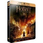 Le Hobbit : La Bataille Des Cinq Arm�es - Ultimate Blu-Ray3d Edition - Blu-Ray3d + Blu-Ray+ Digital Ultraviolet - Bo�tier Steelbook de Peter Jackson