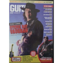 DVD Guitar Part N°216 stevie ray vaughan