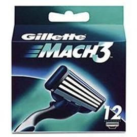 Gillette Mach3 Pack De 12 Lames
