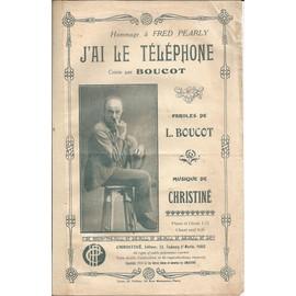 J'ai le téléphone  (créée par Boucot)