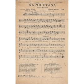Napoletana;  Veux-tu?;  Toi;  Rien qu'une nuit  (4 chansons avec partitions)