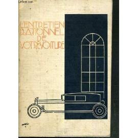 L'entretien Rationnel De Votre Voiture - Brochure De Mobiloil Vacuum Oil Company.
