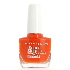 Gemey Maybelline Vernis � Ongles Super Stay 7 Jours - 470 Orange Punch