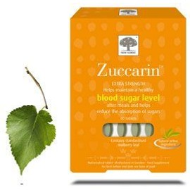 New Nordic Zuccarin Extra Strength, 60 Comprim�s