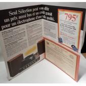 Publicit� �lectrophone St�r�orama 2000 - Ann�es 70