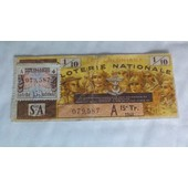 Ticket Loterie Nationale Les Coloniaux