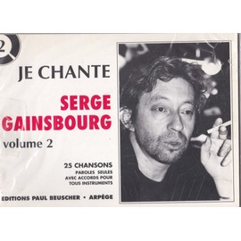Je chante Serge Gainsbourg
