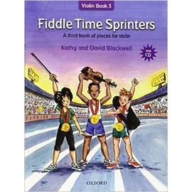 Fiddle Time Sprinters Violin Book 3 + CD (new publication)