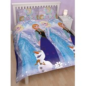 Parure De Lit La Reine Des Neiges Elsa & Anna Pour 2 Personnes