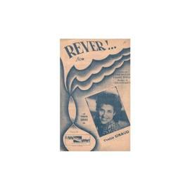 """Partition Yvette Giraud """"Rever"""""""