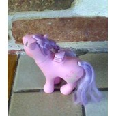 Mon Petit Poney Avec Selle / My Little Pony - 1986 Hasbro Bradley Pat Pend Chine