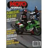 Moto Journal N� 886 Du 23/03/1989 - Essai : Kawasaki 750 Zxr. Une Menace Pour La Bsx-R. Vitesse : Grand Prix Du Japon. Faites Vos Jeux Pour Dimanche. Trial Mondial : Berlatier Devant Michaud.