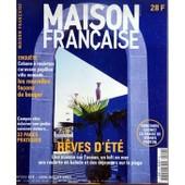 Maison Francaise N� 512 Du 01/06/2001 - Cabane A Roulettes - Caravane Papillon - Villa Nomade - Les Nouvelles Facons De Bouger - Camper Chic - Eclairer Son Jardin - Cuisiner Dehors - Reves D'ete