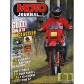 Moto Journal N� 797 Du 14/05/1987 - Essais : Guzzi 650 Ntx. Honda Ns 125 R. Bitume. Albi : Le Drame. Cote : L'accident De Monnin. Tout Terrain : Ssdt Pour Tarres. Atlas A Mi-Courses. Cross Trois Gp.