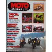 Moto Journal N� 676 Du 22/11/1984 - Special Hiver Vive Le Froid. Comparatif : Endurance Bimota Et Ducati Les Deux Extremes. Essai Trail : Suzuki 125. Rallye D'algerie : Joineau Et Suzuki. Les Honda De Cross.