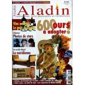 Aladin N� 267 Du 01/11/2010 - Vins Anciens / Le Gout Du Risque - 600 Ours A Adopter - Photos De Stars - Un Meuble Elegant / La Meridienne - Vallauris / 10 Artistes Passes Au Crible -