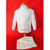 Costume De C�r�monie Bapt�me Mariage F�te Communion Gar�on Enfant 5 Pi�ces Tailles 6 Mois � 3 Ans
