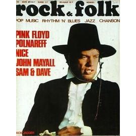 Rock And Folk N� 38 Du 01/03/1970 - Pink Floyd - Polnareff - Nice - John Mayall - Sam Et Dave.
