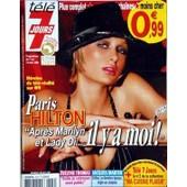 Tele 7 Jours N� 2572 Du 12/09/2009 - Paris Hilton - Apres Marilyn Et Lady Di Il Y A Moi - Evelyne Thomas - Enfin Je Retrouve Mon Public - Jacques Martin - Celine Sa Derniere Epouse - Regle Ses Comptes
