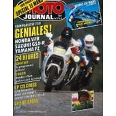 Moto Journal N� 744 Du 10/04/1986 - Comparatifs 750 : Geniales !. Honda Vfr. Suzuki Gsx-R. Yamaha Fz. 24 Heures : Honda Et Yann Pulverisent Le Record. Gp 125 Cross : Cinq Francais Dans Les Points. Vehki -Strijbos : 40 A 0. Special Le Mans.